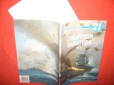 Monografie Morskie (EOW) 21, Flugzeugträger LEXINGTON & SARATOGA Vol.2