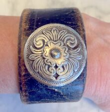 Womens leather cuff