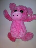 "Kellytoy Pink Pig  13"" Plush Stuffed Animal"