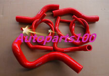 For HOLDEN COMMODORE VZ 3.6L V6 2004-2006 silicone radiator heater hose red