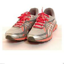 Womens (US 6.5) ASICS GEL EXTREME Orange Gray Running Cross Training Shoes Tiger