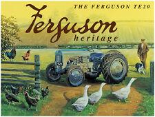 Ferguson TE20, Traktor, Bauernhof, Vintage, klassisches, Heritage, großes Metall