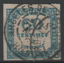 "FRANCE STAMP TIMBRE TAXE 9 "" CHIFFRE TAXE 60c BLEU FONCE "" OBLITERE TB  N540"