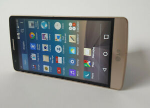LG G3 S D722 - 8GB - Gold Used Faulty Working Smartphone As It Is