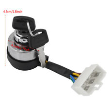 6Wire Ignition Start Key Switch for 2.5-6.5KW 188F Gas Generator + 2 Keys HighQ