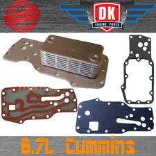 Cummins Dodge Ram Diesel 6.7L 24V ISBE Oil Cooler & Gasket 2007-Present 3975818