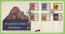 Zimbabwe 1993 Household Pottery set on First Day Cover