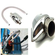 60cm  High Performance Auto Air Parking Heater Exhaust Pipe Gas Vent+Silencer