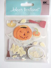 Jolee's Boutique 3d Dimensional Stickers - Pumpkin Carving - Halloween theme