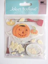 Jolee's Boutique 3d Dimensional Stickers - Pumpkin Carving - Halloween theme