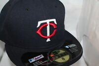 Minnesota Twins New Era MLB Authentic Collection 59Fifty,Hat,Cap     $ 37.99 NEW