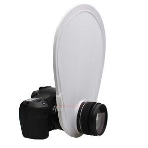 Fold 30cm Small On Camera Flash Diffuser For Canon Nikon DSR Camera Speedlite