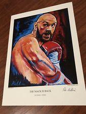 Tyson fury Art Print By Killian