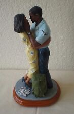 """American Heroes """" Shipping Out """"  Afro-American Figurine by Vanmark"""