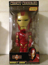 FUNKO IRON MAN 30CM TALL LIGHTS AND SOUND BOBBLE BANK WACKY WOBBLER BRAND NEW