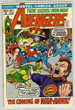 AVENGERS 98 6.5 VISION BLACK PANTHER GIANT MAN NICE PAGES AC