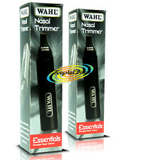 2x Wahl Rinseable Nose Nasal Trimmer Clipper Remove Ear Nose Eyebrow Hair
