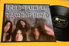 DEEP PURPLE LP MACHINE HEAD 1° STAMPA ORIG INDIA 1972 EX ! RARE DIFFERENT LABEL