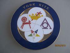 Masonic York Rite Car  Auto Emblem