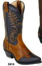 Bottes western country  BOULET SYLVER-REBEL CANADA femmes/hommes *superbe promo*