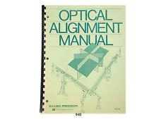 Keuffel Esser Optical Alignment Manual Cubic Precision K & E * 940
