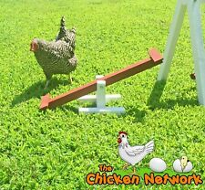 Amish Made Chicken Teeter Totter / SeeSaw