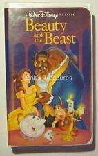 Walt Disney Beauty And The Beast Black Diamond The Classics VHS OPENED