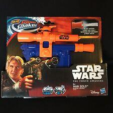 NERF Star Wars Super Soaker E7 Han Solo Blaster New Toy Sale Was 21.99