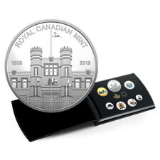 Canada 2018 Classic Coinage in Color 7-Coin Mint Medallion Pure Silver Proof Set