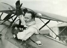 Upside Down Flying Record Colacicchi Plane Italy Aviation 1933 original photo