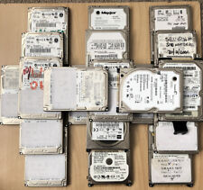 """Job Lot of 20 2.5"""" IDE Drives - 20GB - 120GB (Some tested, some not)"""