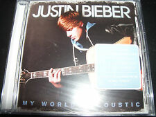 Justin Bieber My Worlds Acoustic CD - NEW