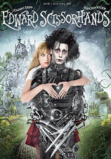 EDWARD SCISSORHANDS 25th Anv ED DVD DIGITAL HD DEPP NEW FREE SHIP TRACK CONT US