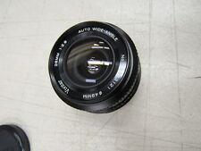 Vivitar 49mm Wide Angle Lens