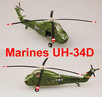 Easy Model 1/72 US Army Marines UH-34D YP-20 Helicopter Plastic Model #37010
