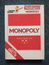 Monopoly cassette tape by Leisure Genius for the BBC Micro