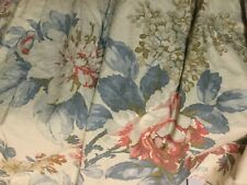 Rare Ralph Lauren King Size Floral Bed Skirt,Dust Ruffle~Lake Home Collection~