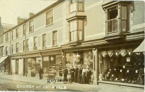 Church Street, Ebbw Vale RP  shop fronts