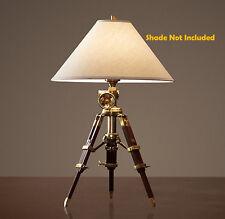 Hollywood Surveyor's Tripod Desk Lamp Lamp, Restoration Hardware Lighting Design