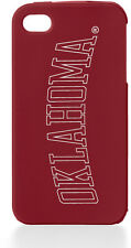 Victoria's Secret PINK iPhone 4/ 4s soft rubber case OKLAHOMA SOONERS Maroon