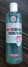 NEW Soap & Glory Face Soap And Clarity 3 In 1 Vitamin C Facial Wash 350ml