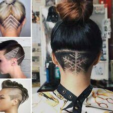 10Pcs Lames Pr Stylo Gravé Style Cheveux Sourcil Barbe Stylo Rasoir Salon Homme