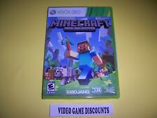 Original Box Case for Microsoft Xbox 360 XB Mindcraft Mind Craft