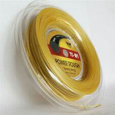 Good quality Big Banger Alu Power Rough Tennis String polyester Gold Color