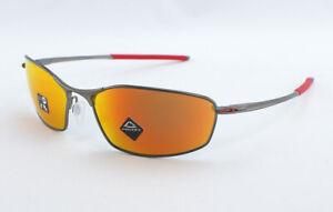 Oakley Whisker OO4141-0260 Sunglasses - Matte Gunmetal/Prizm Ruby