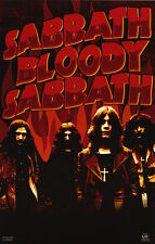 "BLACK SABBATH Poster [Licensed-NEW-USA] 22.5""x34"" (Sabbath Bloody Sabbath 1973)"
