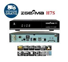 Zgemma H7S Decoder 4K H.265 2xDVB-S2X 1xDVB-T2 HEVC H.265 Multistream Enigma 2