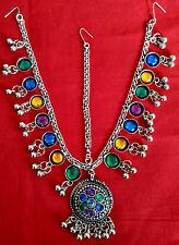 Kuchi Tribal Head Piece Belly Dance Costume Jewelry Gypsy ATS Boho Matha Patti