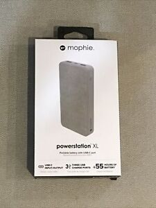 NEW mophie 15000 mAh Dual USB-C Portable Battery Power Bank for iPhone & Android