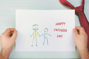 Handmade Father's Day card (used)